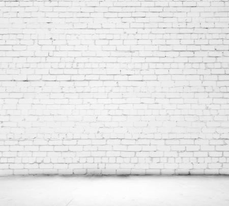 Background image of blank white brick wall 版權商用圖片