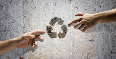 Human interaction to protect our planet  Ecology and environment photo