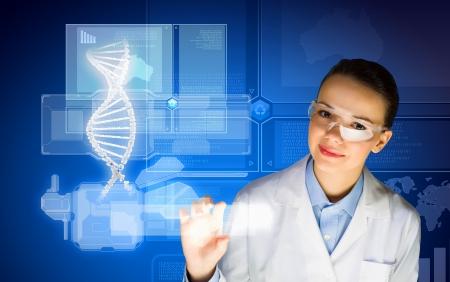 guanine: New technologies in medicine  Molecule of DNA