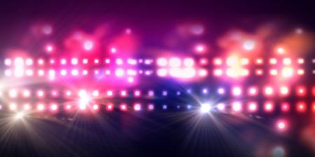 Achtergrondafbeelding van het podium in kleur licht