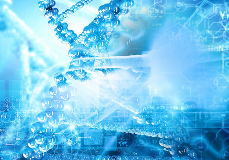 Background image of DNA molecule  Science concept Stock Photo - 24976618