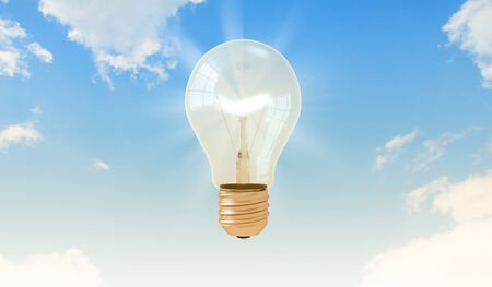 light fitting: Electric bulb in bright sky  Inspiration and ideas