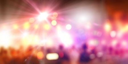 背景のぼかしとライトの党概念と画像
