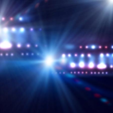 ray trace: Imagen de fondo de escenario en luces de colores