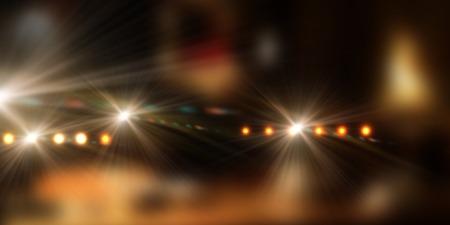 ray trace: Imagen de fondo de escenario con luces de colores