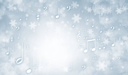 christmas music: Abstract background image expressing different concepts and ideas