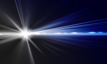 Background image with light beams and rays photo