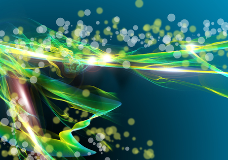awesome wallpaper: Background abstract image with loops and springs