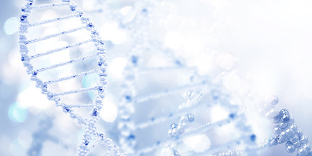 Background high tech image of dna molecule Zdjęcie Seryjne - 34702881