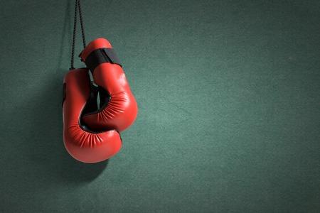 Paire de gants de boxe suspendu � tous