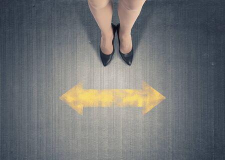 businesswoman legs: Top view of businesswoman legs in elegant shoes