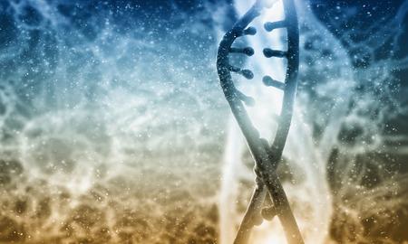 ハイテク dna 分子生化学背景コンセプト 写真素材