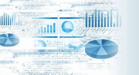 financial gains: Business financial background image with profits and gains Stock Photo