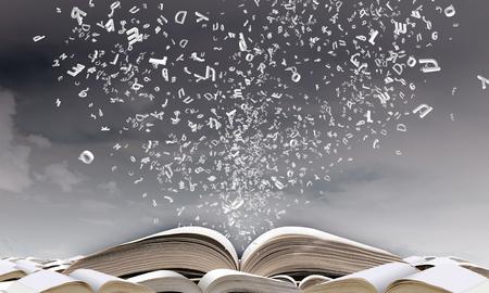 ページから飛んで文字で本を開く