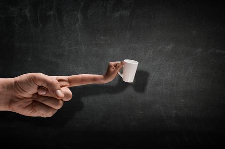 Would you like a cup of tea . Mixed media 版權商用圖片