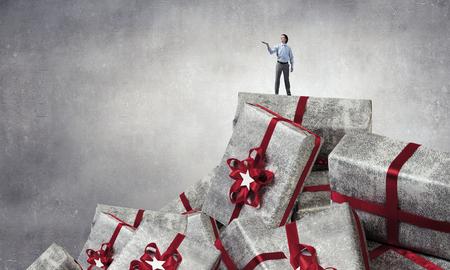 そのクリスマスの偉大な販売。ミクスト メディア