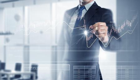 New technologies for business . Mixed media . Mixed media Stock Photo