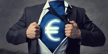earn money: He is super and powerful