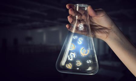 Geld maken concept