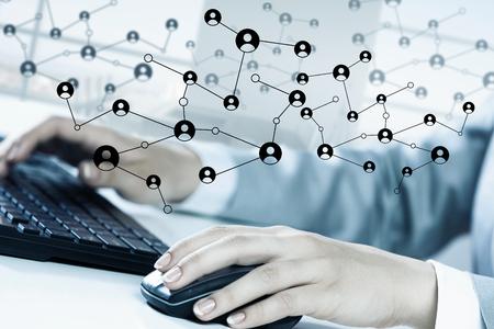 connexion sociale et la mise en réseau
