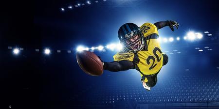 American football player Фото со стока