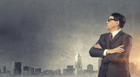 He is big boss Stock fotó