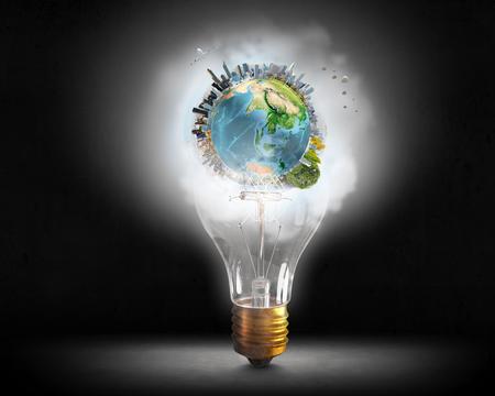 planos electricos: Bright idea for success . Mixed media . Mixed media