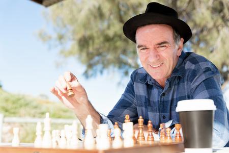 Thinking chess strategy Stok Fotoğraf - 78891195
