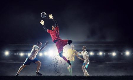Les moments les plus populaires au football Banque d'images - 80191495