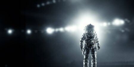 spaceport: Astronaut in space suit