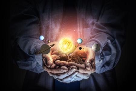 Verken de mysterie van de ruimte