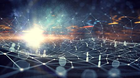 グローバルなワイヤレス接続の概念 写真素材