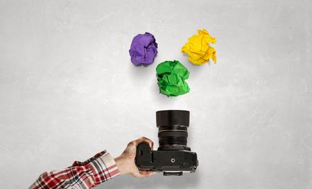 When making photo is making money Stok Fotoğraf - 81075668