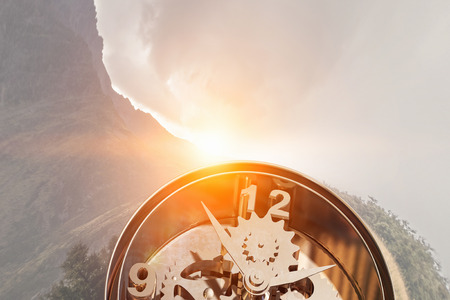 Time is passing 版權商用圖片 - 81927844