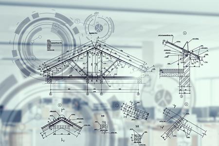 산업 분야의 혁신적인 기술 스톡 콘텐츠