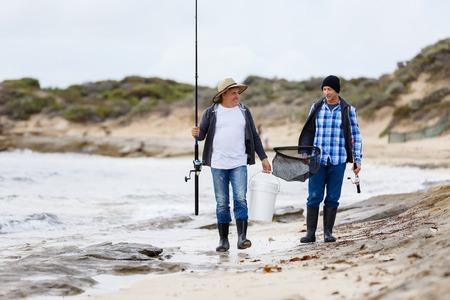 Picture of fisherman Reklamní fotografie - 82042032