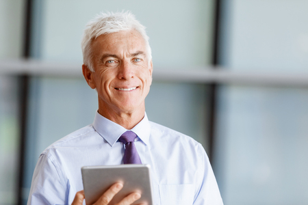 Success and professionalism in person Stock Photo