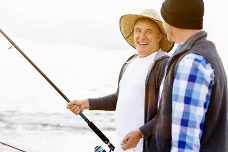 Picture of fisherman Reklamní fotografie - 82548466