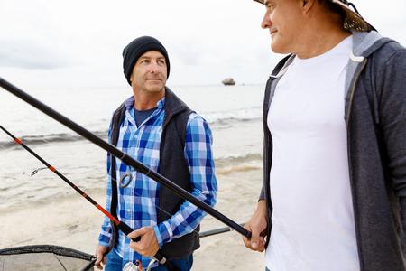 Picture of fisherman Reklamní fotografie - 82549962