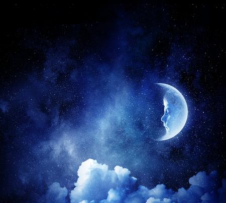 달콤한 밤 꿈. 혼합 매체