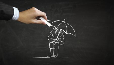 비즈니스 인물의 만화 이미지 스톡 콘텐츠