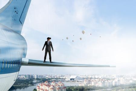 Ervaring van de virtuele realiteit. Gemengde media