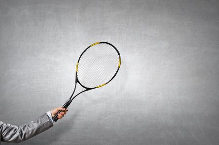 Big tennis game Reklamní fotografie