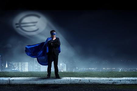 Sterk en krachtig als superheld