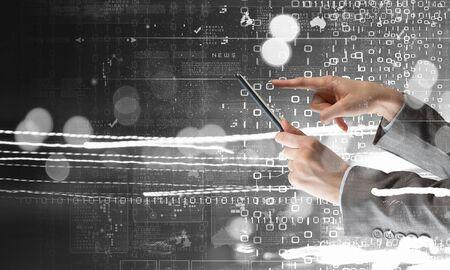 Modern technologies in hands