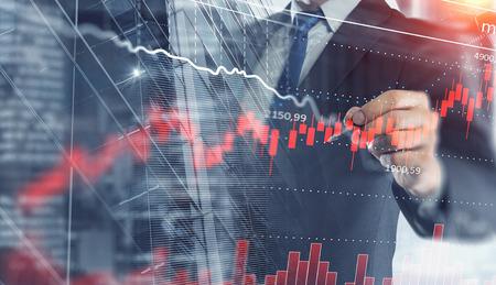 Dynamics of market growth 版權商用圖片