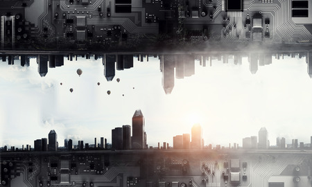 Micro technologies in macro modern life Reklamní fotografie