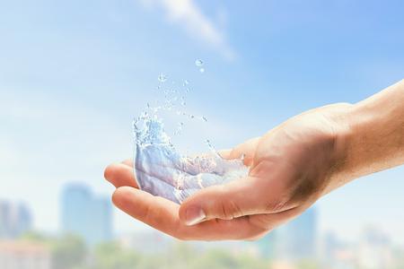 Water as life source Stock fotó