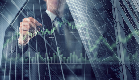 Dynamics of market growth Reklamní fotografie