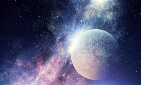 Starry Sky e ombreggiatura misti misti Archivio Fotografico - 83189582